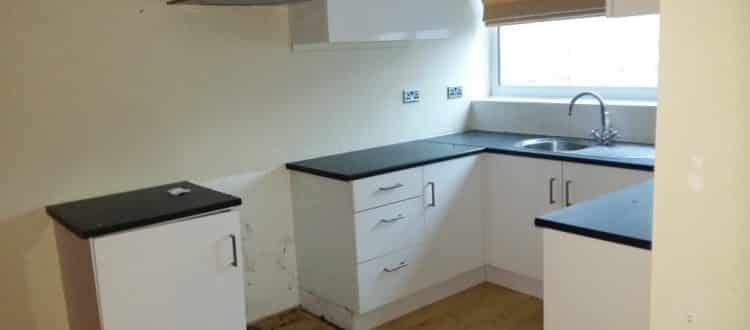 Kitchen after Hatfield House Clearance